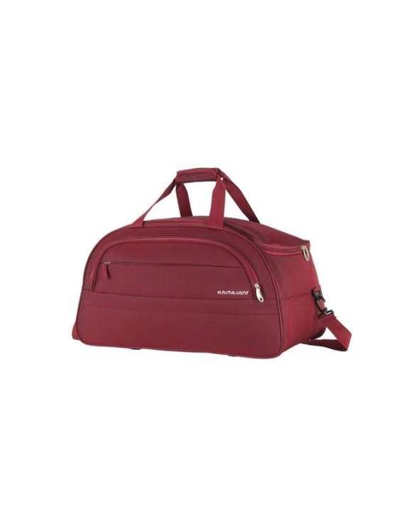 Zoya Duffel Bag Wheels Small - Red