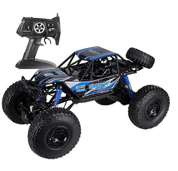 MZ RC Cars All Terrain Remote Control High Speed Vehicle 1:10 Scale 2.4Ghz 4WD Eletric RC Toys Off Road Oversized Bigfoot Monster Truck, Best Gift for Kids and Adults