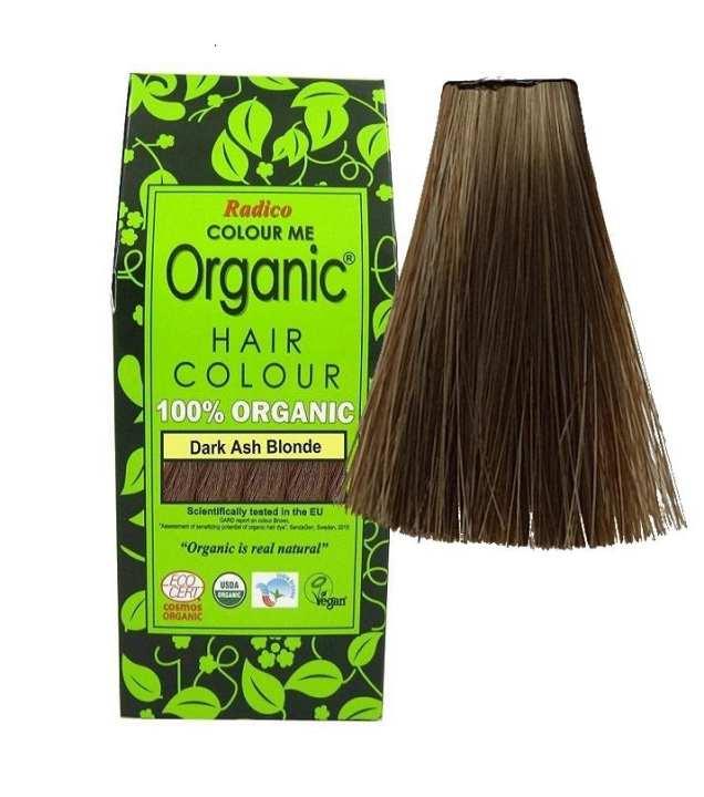 "Herbal Hair Dye ""Color Me Organic"" Dark Ash Blonde"