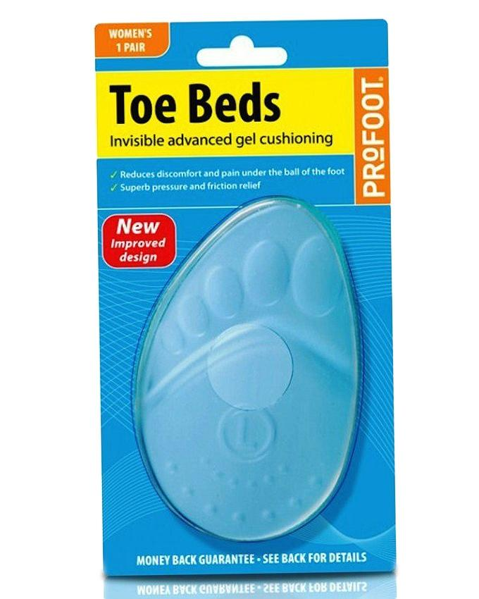 Pair of Toe Beds  - Blue