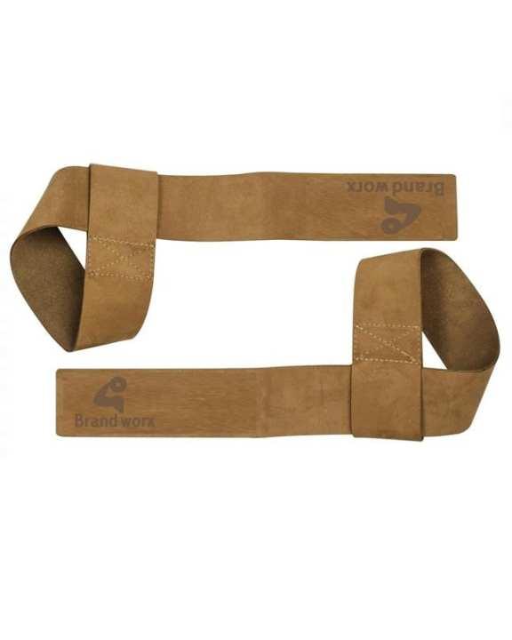 "Premium 2""/5Cm Wide Genuine Leather Lifting Straps"