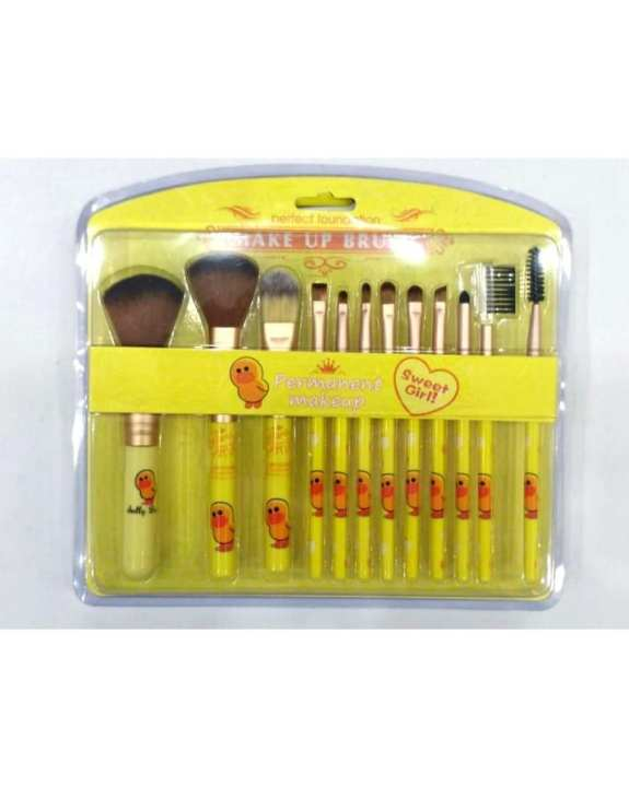 12 In 1 Makeup Brushes