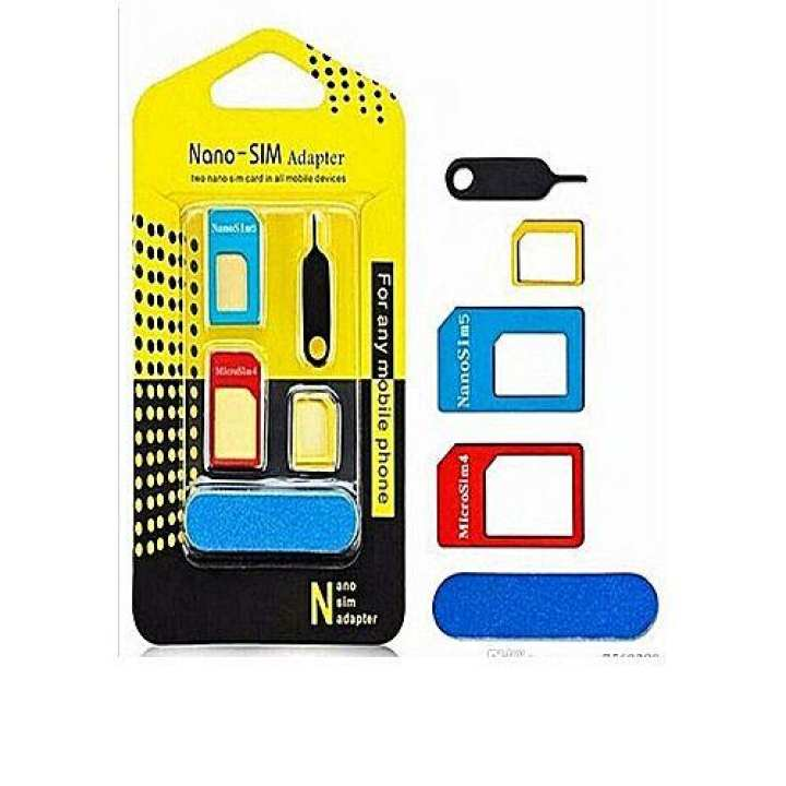 Nano And Micro Sim Converter Metal Jacks