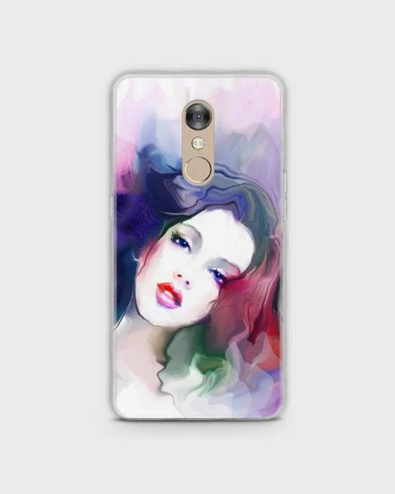 Cover For Infinix Hot S2 X522 Hard Girl Face Print -1cover2817