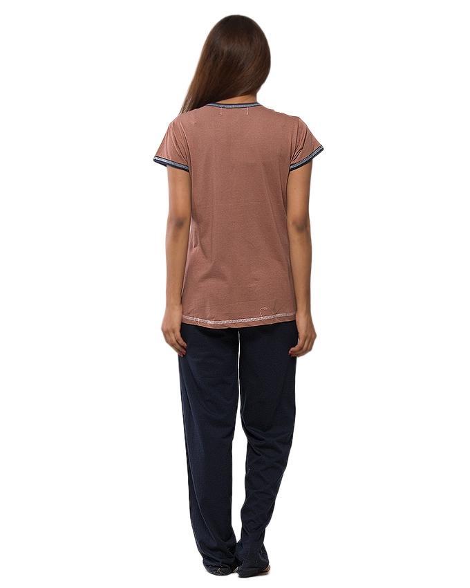 Multicolour Cotton Nightsuit for Women - JA-HG-NS