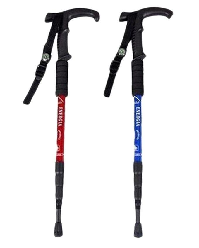 Pack of 2 - Hiking Stick - Multicolour