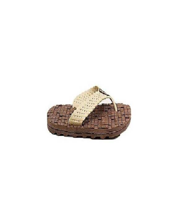 Brown Rubber Slippers For Men