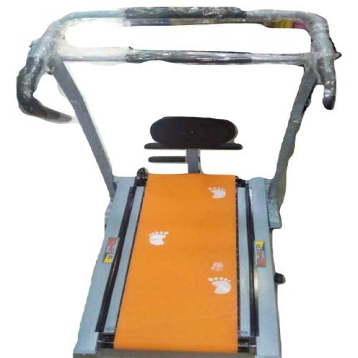 Manual Treadmill 17 Rollers with Twister(607) Multicolor