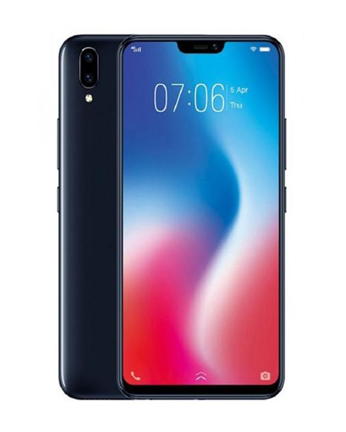 "V9 - 6.3"" Fhd+ Notch Display - 4Gb Ram + 64Gb Rom - 16/5/24Mp Camera - Black"