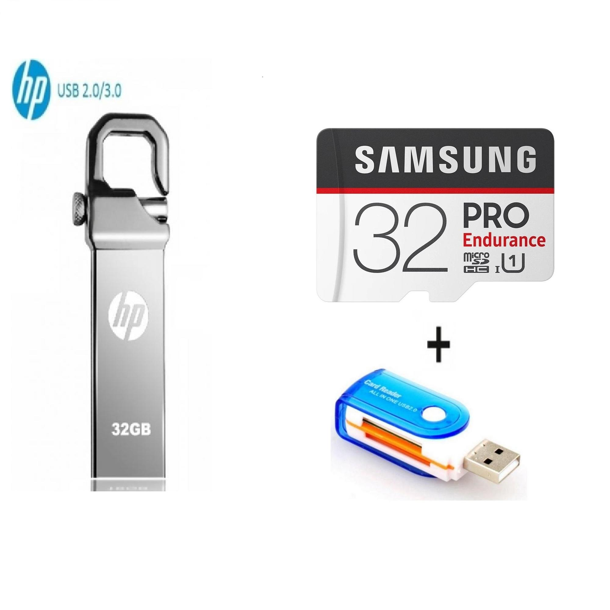 Buy Hp Flash Drives At Best Prices Online In Pakistan Flasdisk 8gb V250w Pack Of 3 32gb Usb 32 Gb Samsung Pro Endurance Memory Card
