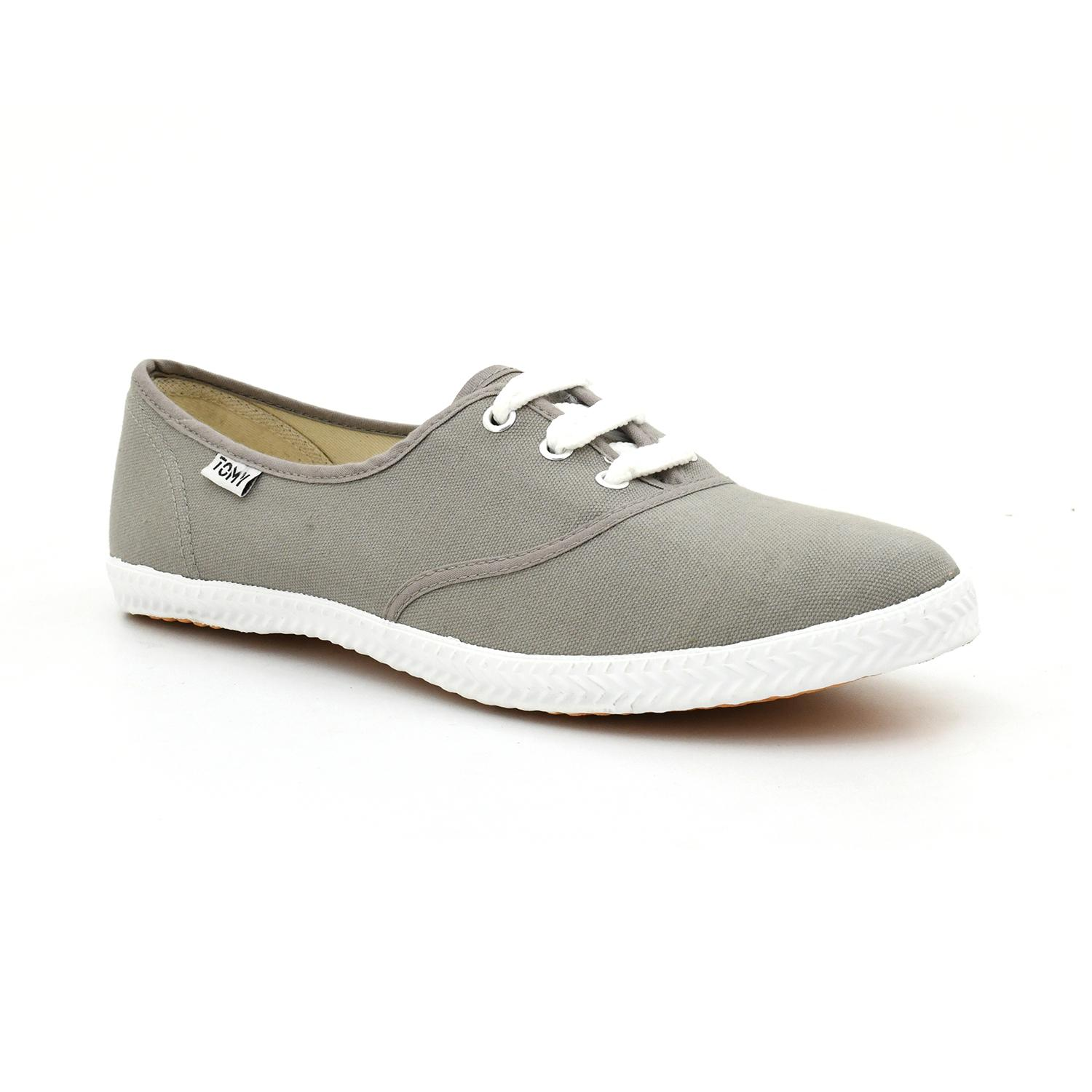 f5d9ae11b531 Tomy Takkies Grey Canvas Shoes For Men