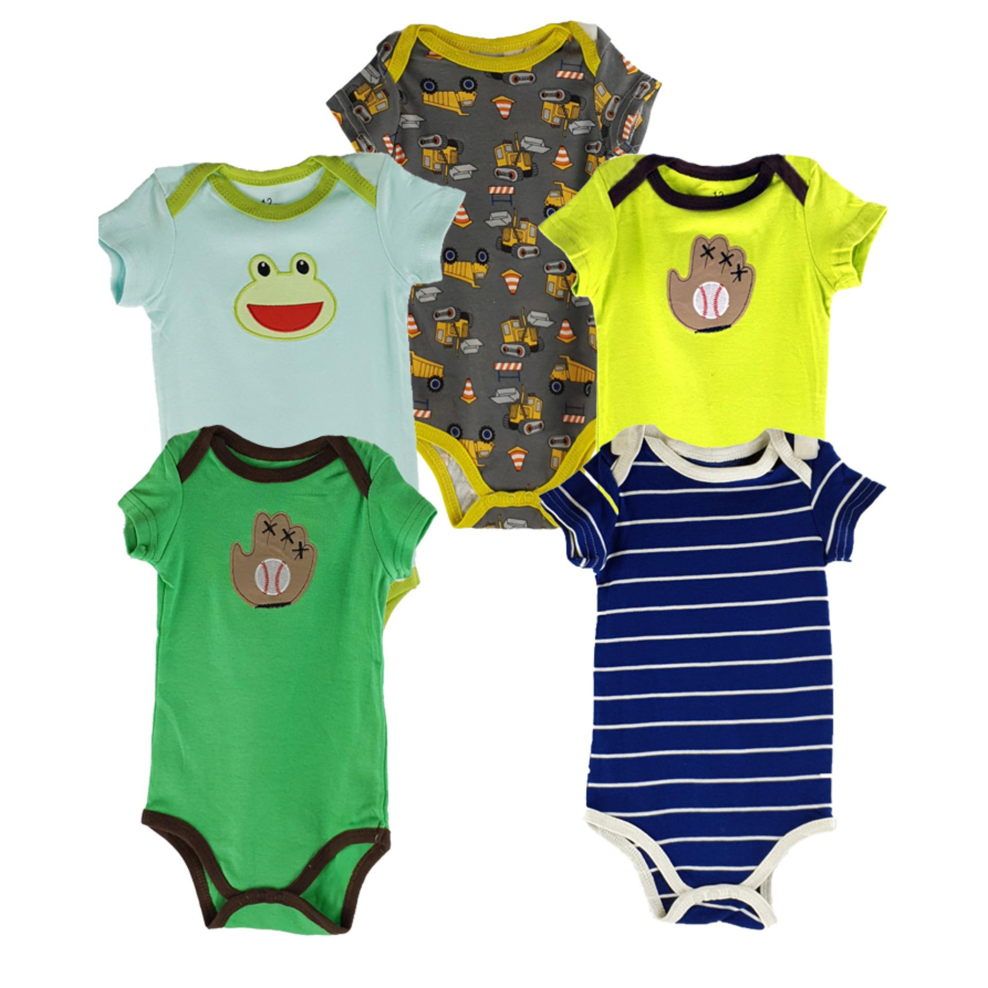 Clothing Accessories Buy At Best Price In Mom N Bab Long Pants Blue Polkadot Size 6t Pack Of 5 Cotton Half Sleeves Rompers For Baby Boy