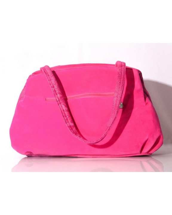 Sk Pink Synthetic Purse Hand Bags Formal