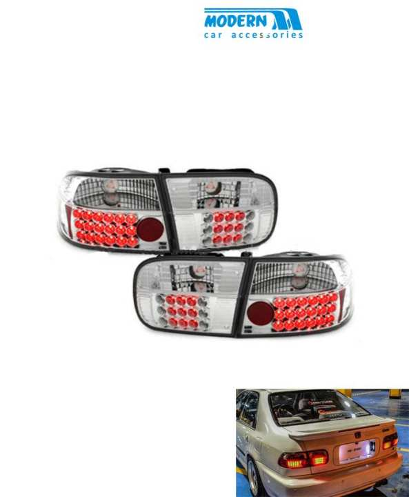 Honda Civic Crystal Style BackLight - Model 1996-1999
