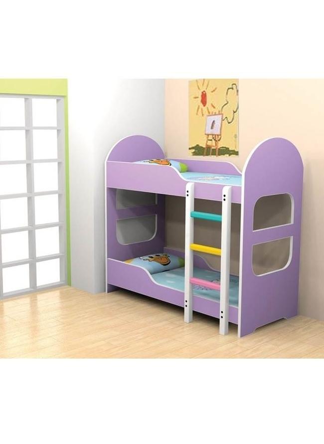 Children Bunk Bed Purple