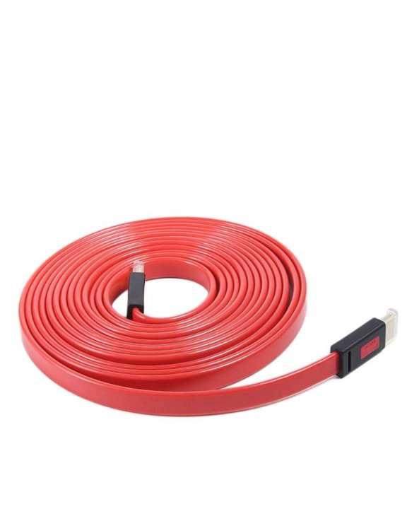 HDMI Flat Cable - ULT Unite 1.4V - Unit 1.4V - 10 Meter 2K.4K - Red