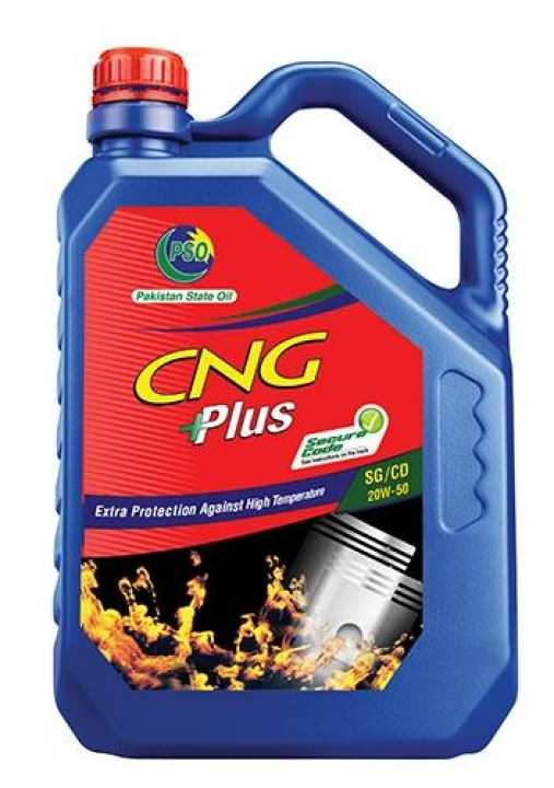 CNG PLUS SAE 20W50 API SG/CD (3 Liter Pack)