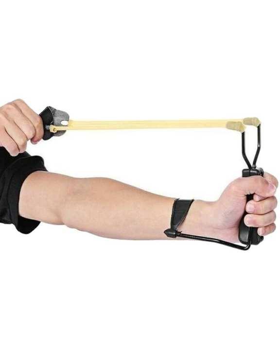 Sporting Wrist Slingshot - Black