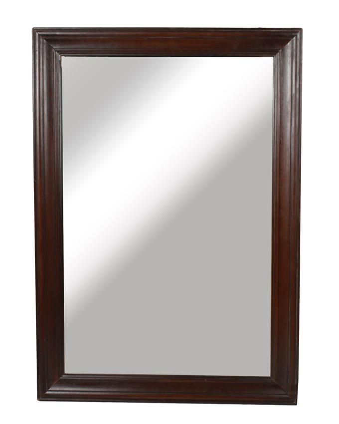 Tables Trolleys Wall Hanging Mirror Brown