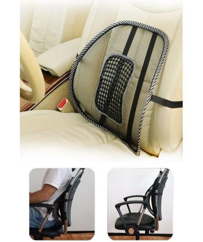 Chair Back Support Massage Cushion Mesh
