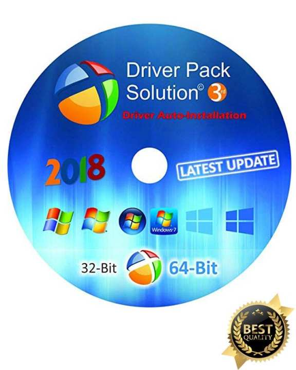 DRIVERS PACK DVD XP VISTA 7 8 10 - AUTOMATIC INSTALL