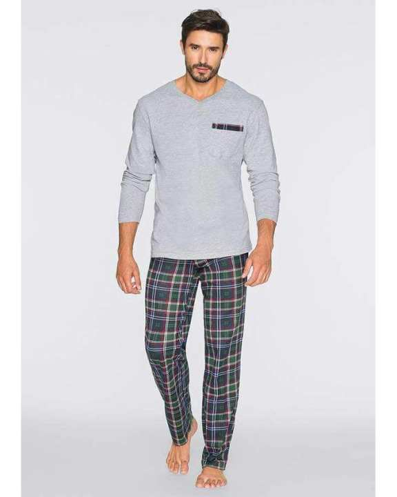 Multicolor Cotton Night Wear Suit For Men