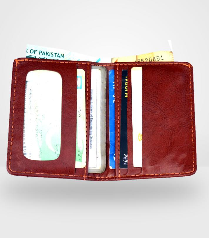 c0153ed05a7 Card Holder Cash Wallet for Men Women - Artificial Leather