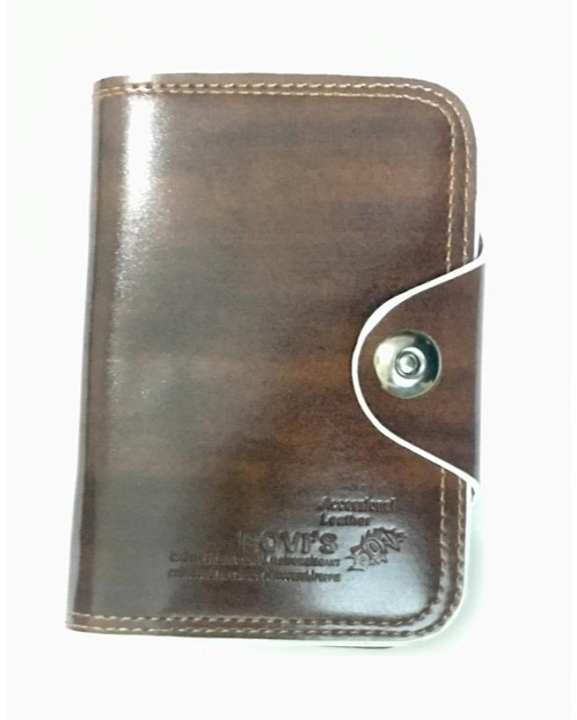 Leather Wallet -Brown