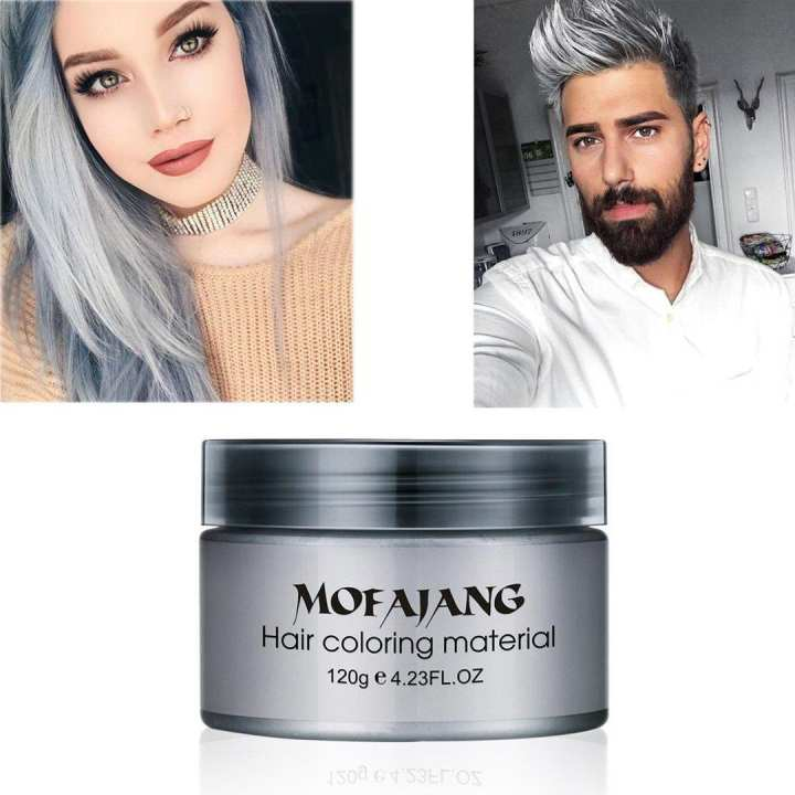 Original Mofajang Hair Coloring Strong Styling Wax