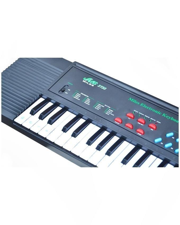 Miles Electronic Keyboard for Kids - Grey