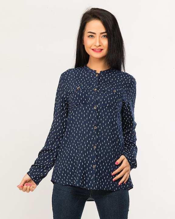 BEECHTREE - Absolute NAVY 1-Pcs Shirt For Women