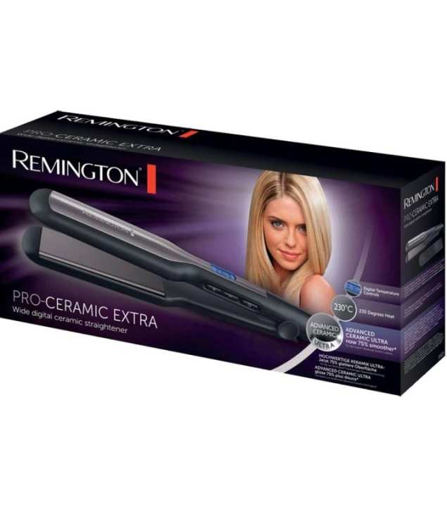 S-5525 PRO-Ceramic Extra Hair Straightener wide plate