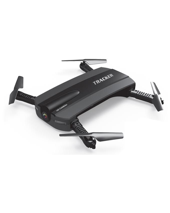 Hd Wifi Drone Camera Tracker - Black