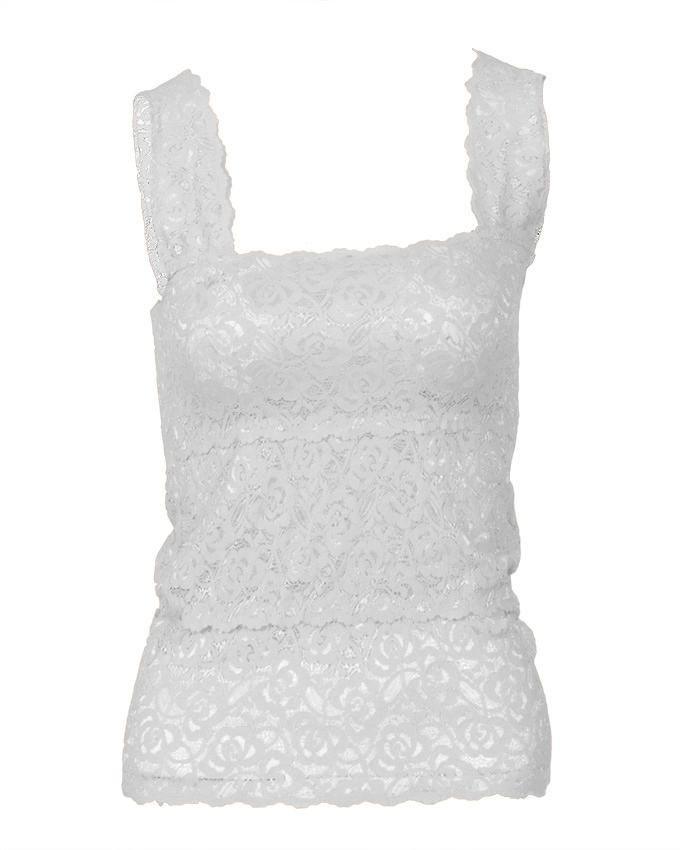 White Stretchable Imported Lace Bra - Fashion 2000-S