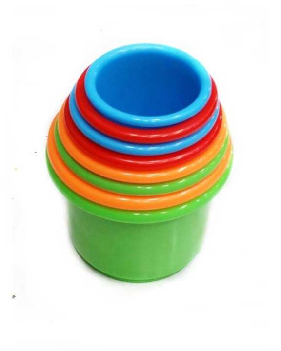 Stacking Cups Toy for Kids - Multicolor