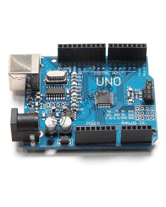 Uno R3  Without Usb Cable - Blue