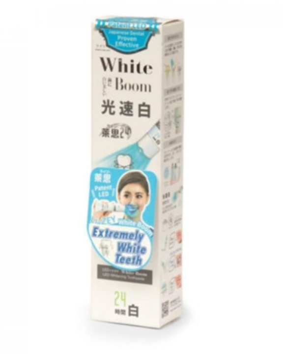 White Boom LED Whitening Toothpaste