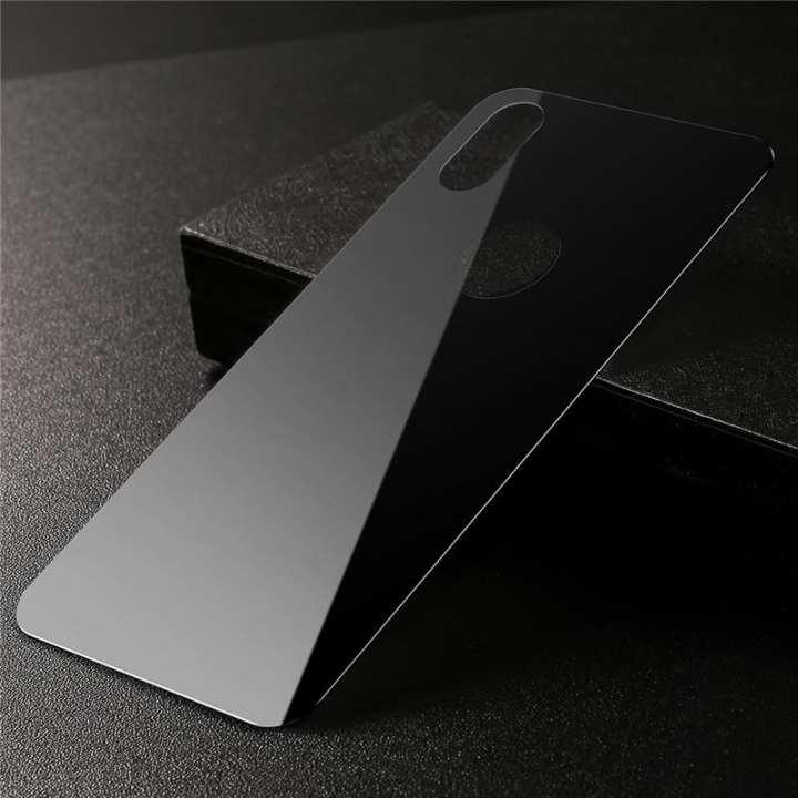 iPhone Xs Max Back Glass Black
