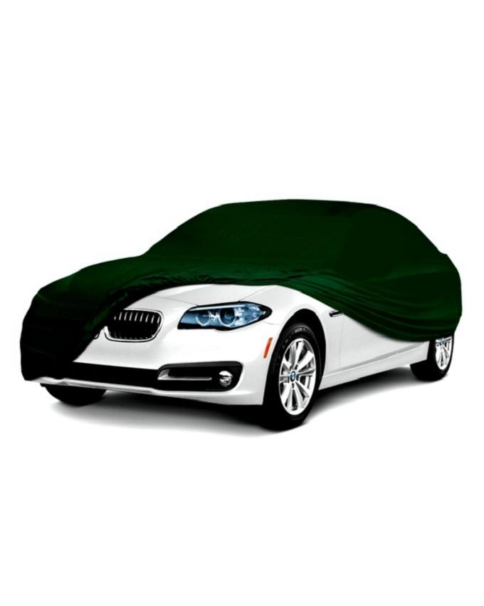 Scratch Resistant,Dust and Waterproof PVC Car Body Cover For Toyota Corolla-Japanese PVC - Military Green