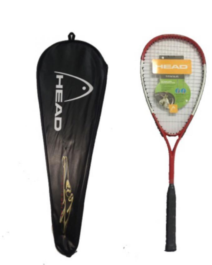 Head Titanium Squash Racket - Multicolor