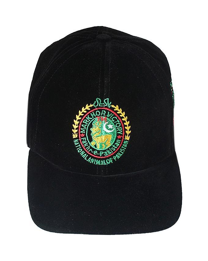 324dc8ad4 Fakhr-e-Pakistan Velvet Cap - Black