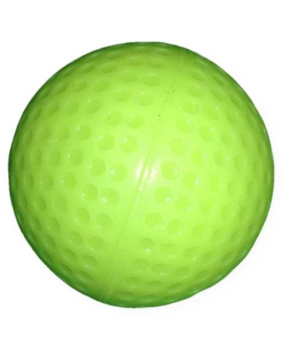 Hockey Ball Best Quality Cricket Practice Ball  - Yellow