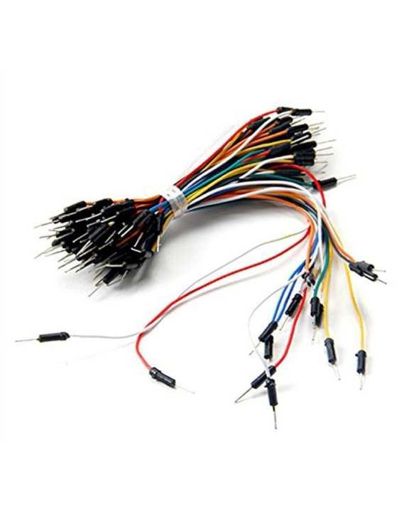 65pcs Breadboard Jumper Cables Arduino Jumper Wires
