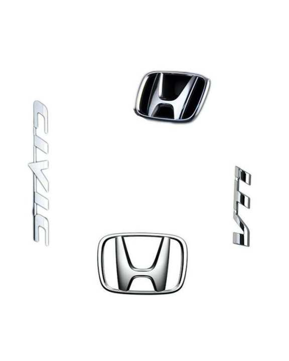 Honda Civic Monogram - Silver