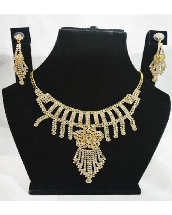 Gold Plated Indian Necklace Set