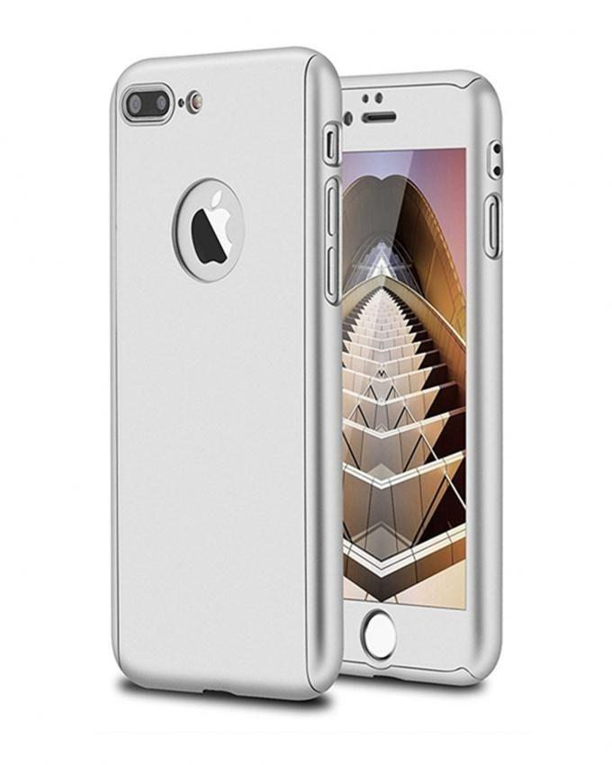 360 Cover & Screen Protection for Iphone 7Plus - Silver