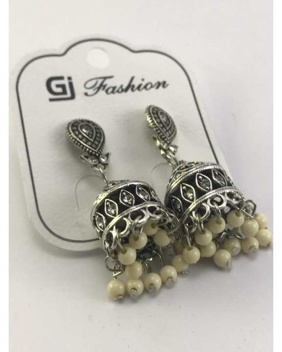 Antique Fashion Jhumky with Beads for Women