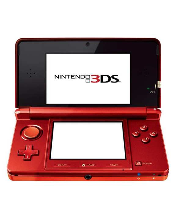 3DS Console - Red