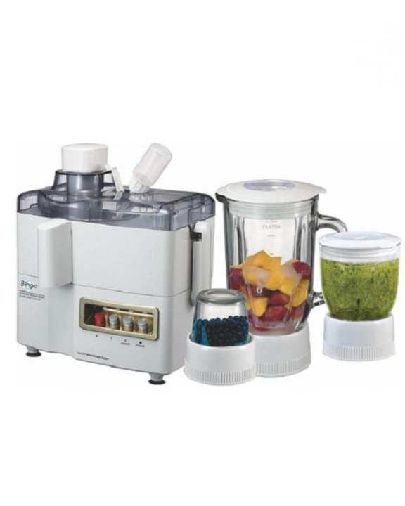 JBG-4000 - BS 4 in 1 Juicer, Blender & Dry Mill - White
