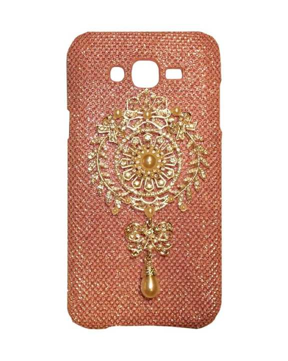 Xocorol Luxury Diamond Case For Samsung J5 - Rose Gold